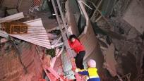 台南16层大楼倒塌已救出34人 女童受困喝尿解渴