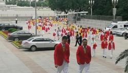 习近平将在人民大会堂会见中国奥运代表团