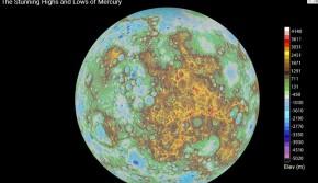 NASA绘制首张完整的水星地形图
