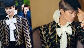 李宇春演绎唯美复古风 女公爵造型优雅帅气