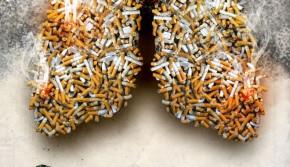 俄媒选出最震撼禁烟公益广告 揭示吸烟的危害