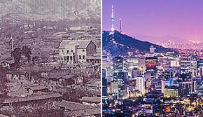 沧桑巨变:百年来著名城市变迁对比照