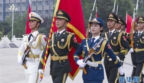 祖国光辉历程的见证者——记中国人民解放军三军仪仗队