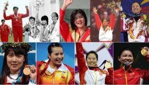 中国历届奥运会首金