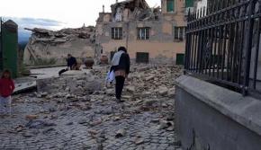 组图:意大利中部地震6人遇难 市镇面目全非