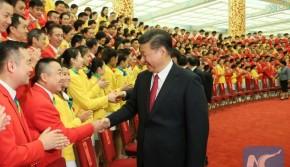 习近平会见中国奥运代表团