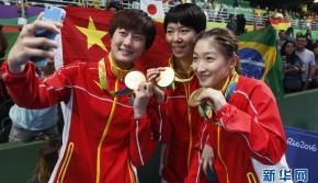 乒乓球女团决赛 中国队胜德国摘金