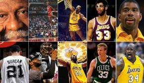 NBA历史10大最成功巨星:詹姆斯压科比 乔丹仅第2