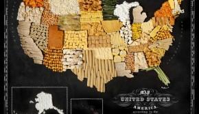 吃货眼中的全球美食地图