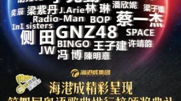 第四届粤语歌曲排行榜颁奖典礼移师清远 星光熠熠打造音乐之夜
