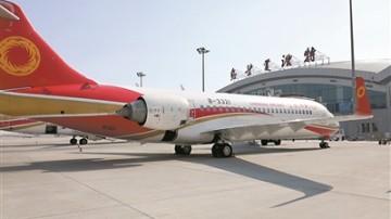 中国自主研发ARJ21-700飞机开展航线展示运营