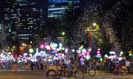 蔡国强最新公共艺术项目亮相费城百年富兰克林大道