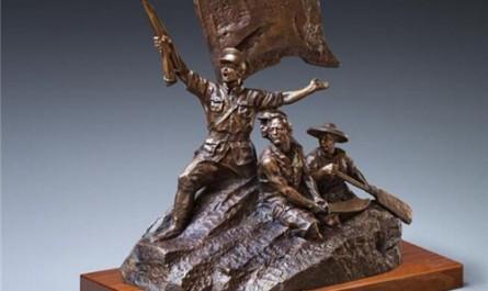 红色琼海丹青颂 琼粤两地艺术家以40件作品纪念椰子寨战斗暨琼崖纵队诞生90周年