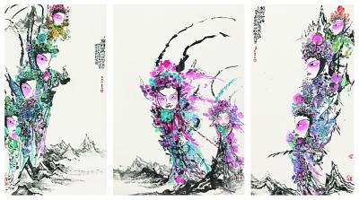 奇譎姿縱 妙筆詠懷——兼析馬書林的水墨畫藝術