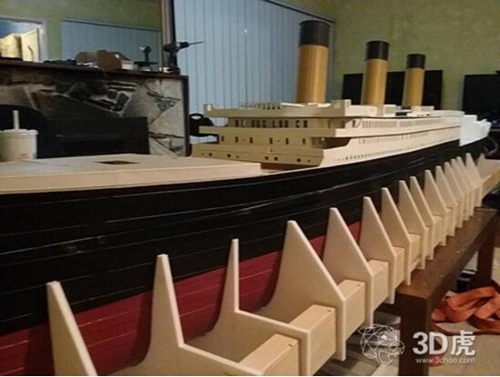 dohnt精心设计的模型来自泰坦尼克号的原版设计蓝图