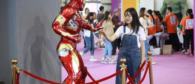 第十届漫博会在东莞开幕 国内外知名动漫IP齐亮相