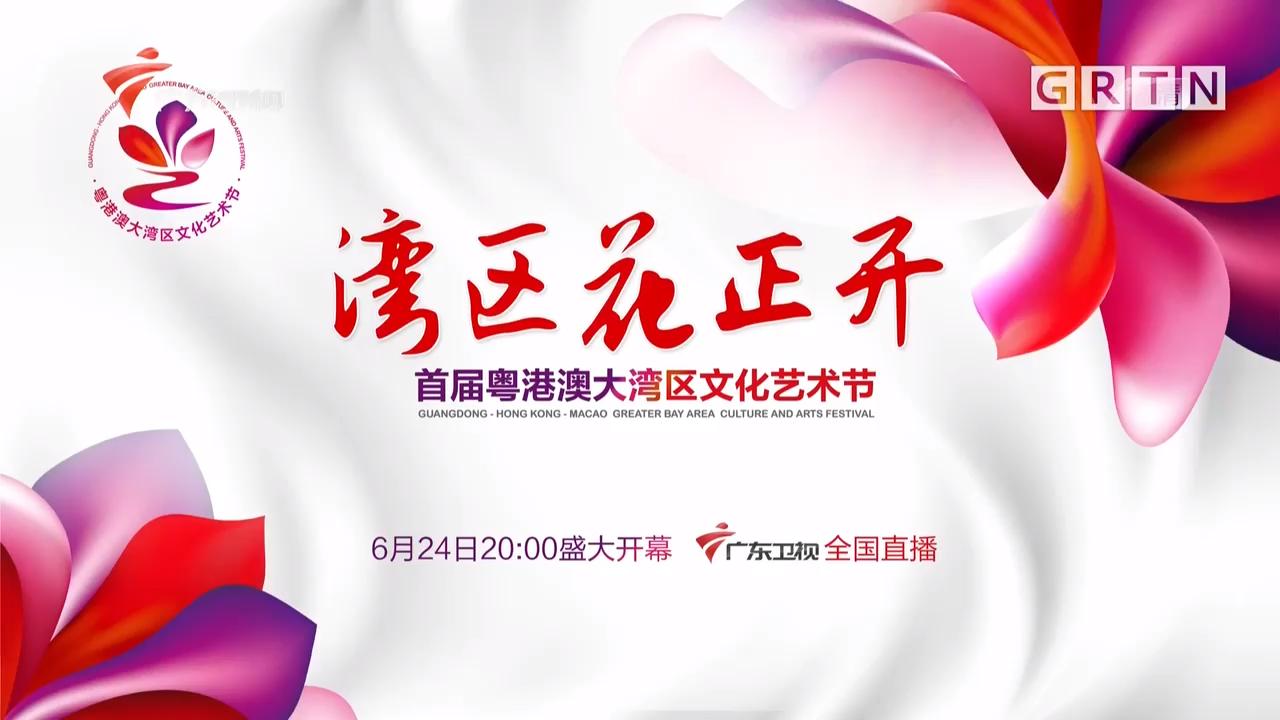 湾区花正开——首届粤港澳大湾区文化艺术节